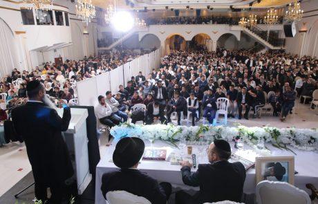"""אלפים השתתפו במסיבת החנוכה של מוסדות קרבנו לעבודתך בפ""""ת"""