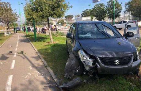 2 תאונות על הבוקר: הולכת רגל כבת 30 וגבר כבן 60 נפגעו