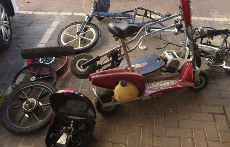 גנבו לכם אופניים חשמליים בפתח תקווה?