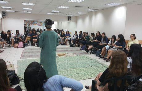 """מפגש ראשון מסוגו לתלמידות יב' בשיתוף המועצה הדתית פ""""ת"""