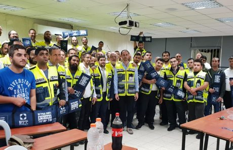 """ארגון ידידים הכשיר עשרות מתנדבים מסניף פ""""ת וציידם בערכות פתיחה מקצועיות"""