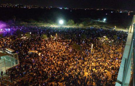 """תיעוד: אלפים השתתפו בחגיגות עצמאות של עיריית פ""""ת"""