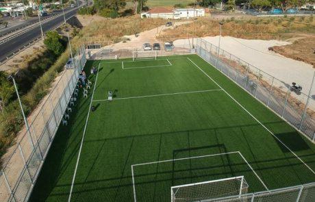 בקרוב: 4 מגרשי כדורגל חדשים בעיר
