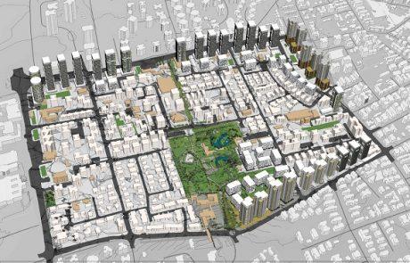 אושרה להפקדה התוכנית להתחדשות עירונית הגדולה ביותר בפתח תקווה