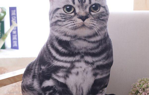חמוד: בובת כרית בצורת חתול