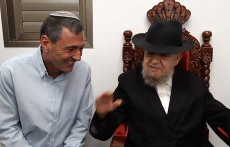 """הגאון הרב מאיר מאזוז במכתב תמיכה: """"להצביע לרשימת """"הבית היהודי"""" בראשות איציק דיעי"""""""
