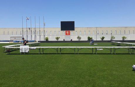 """על כר הדשא: מועצת העיר פ""""ת תתכנס לישבתה באיצטדיון המושבה"""