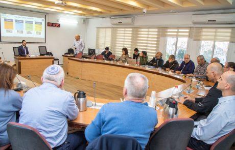 """ועדת מל""""ח בעיריית פ""""ת התכנסה לראשונה מאז הבחירות"""