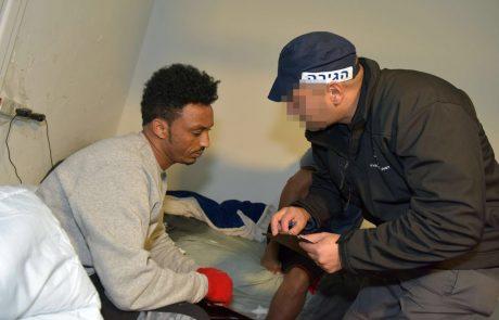 פתח תקווה מעוז למסתננים? 57 נתינים זרים נעצרו ללא אשרת שהייה