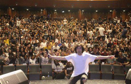 כ -800 מתגייסים השתתפו בכנס מיוחד של אגף חברה נוער וצעירים
