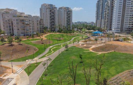 בקרוב יחנך בעיר פארק עירוני חדש בשכונת נווה גן בפתח תקווה