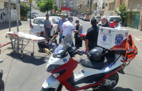 שלושה בני אדם נפצעו בשתי תאונות בפתח תקווה