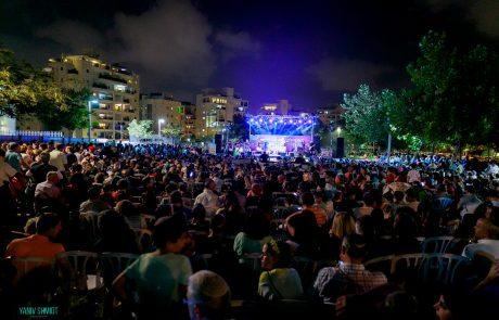 אלפים השתתפו במופע סיום הקיץ של התרבות התורנית בפתח תקווה