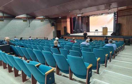העירייה קיימה ישיבת הערכת מצב בנושא הקורונה