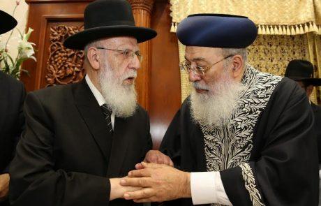 תיעוד מיוחד: גדולי ישראל בעצרת התעוררות בפתח תקוה
