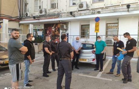תעודות הוקרה לצוות הביטחון ממרכז העיר