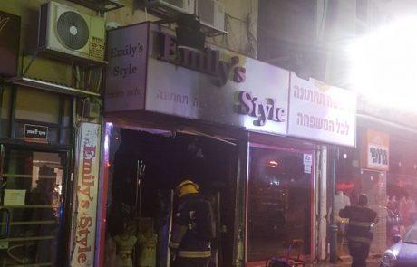 מכת השריפות בפתח תקווה: חנות נוספת ברחוב חובבי ציון עלתה באש