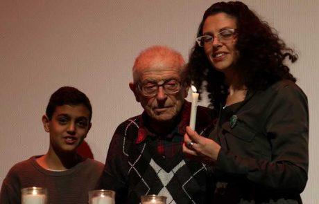 """כך ציינה עיריית פ""""ת את יום הזיכרון הבינלאומי לזכר קורבנות השואה"""