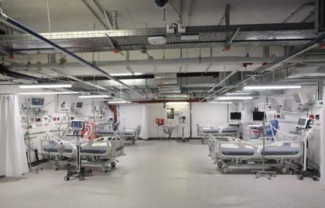 צפו: ארבע מחלקות חדשות מיוחדות לחולי קורונה קשים בבית חולים בלינסון
