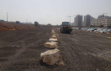 """120 מקומות חניה: הושלמה הגדלת החניון ברחוב השחם בפ""""ת"""