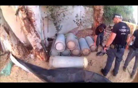 צפו: המשטרה עוצרת כנופיית גנבי בלוני גז בפתח תקווה