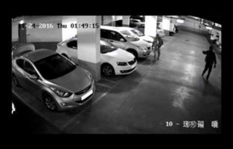 צפו: כך תפסה המשטרה גנבי רכב בפתח תקווה