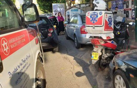 בדרך לבית הספר: שני ילדים נפגעו מרכב בשכונת גני הדר