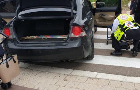 רחוב מנחם בגין: 5 נפגעים בתאונת דרכים