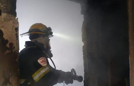 רחוב הדרור, שעריה: דירה עלתה באש – אישה נספתה