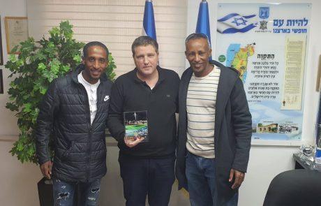 יש לנו נציג: איימרו עלמיה, משכונת יוספטל ייצג את ישראל באולימפיאדה